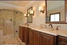 Celebrity Tiled Bathrooms / Tiled Bathrooms inspired by the stars / by The Tile Shop