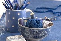 Blue and White / by OSuzannah / Susan McRae