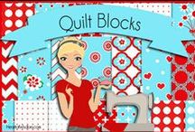 Quilt Blocks / by So  Sweetly Blessed Susie Dooman
