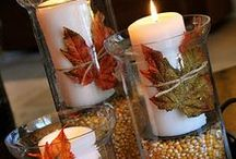 Fall Decorating / All the things you'll need to decorate your home for fall / by StacksandStacks ClutterControlFreak