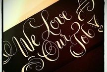 Calligraphy / by Annie Wolf