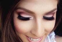 makeup & nails <3 / by Ashley Sanchez
