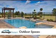 Outdoor Spaces / by Meritage Homes