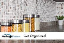Organization Ideas / by Meritage Homes
