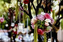 Branch Wedding Centerpieces / A gallery of wedding centerpieces that incorporates branches into the design.  Manzanita branches can be decorated with candles, crystals, ribbon & flowers.  Sticks and branches can also be painted to match your color theme. / by Your Wedding Company