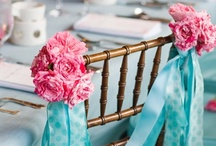 Wedding Chairback Decorations / Pretty ways to decorate chairbacks. / by Your Wedding Company