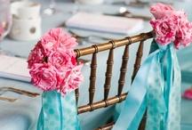 Wedding Chairback Decorations / Pretty ways to decorate chairbacks. / by Your Wedding Company