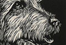 Printmaking: Lino/Woodcut / by Joanna Mann