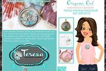 Origami Owl -Teresa Sterling, Independent Designer #10126 / Check out the hottest new trend / by Teresa Sterling