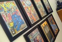 Comic Book Display / by Emily Reed