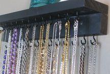 Jewelry Storage / by Rachel Wells