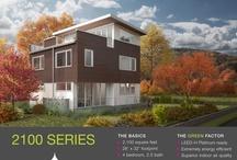 Greenfab 2100 Series / Renderings of Greenfab's 2100 Series Home. / by Greenfab Homes