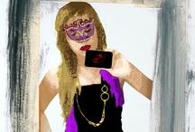 """Ojo al Jazz / Illustrations for my website""""Ojo al Jazz"""", on wix.com / by Diego Losada"""