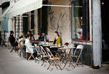 cafes and shops / Cafes and shops from all over the world   / by Amallna
