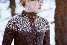 Knitting - sweaters / by Amy Munson