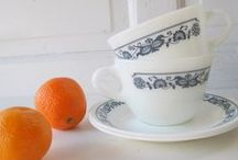 THE COLLECTION-PYREX, CORNING-WARE & MORE.. / DISHES, DISHES, DISHES, AND MORE DISHES...... / by Sue Lodmill