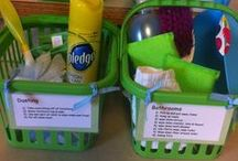 Cleaning Stuff / Get rid of the yuckies! / by Sheleen Broaddus