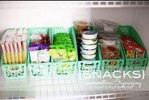 Organized Kitchen and Bath / by Chavi Singer