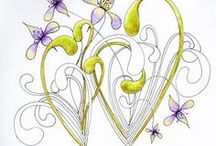 Zentangles... and Doodles / by Laurie Lette