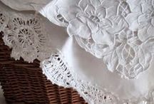 ~Linens~ / <3 I have loved bed and table linens forever <3 / by MaryAnne Powell