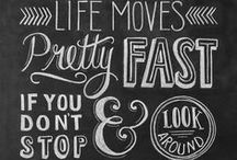 Chalkboard Ideas / by Chelsea Marshall