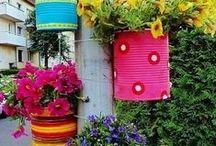 Fun Gardening Ideas!  / by Jessika Carrier