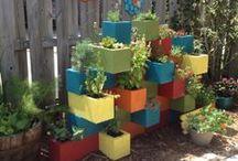 Garden Structures / Trellis, raised beds, etc / by Chavi Singer