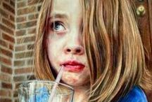 Colour Pencil Paintings We Love / The most inspiring, eye-catching coloured pencil paintings we find travelling through cyber space! / by ArtTutor.com