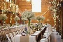 My wedding...via collaboration  / Culmination of awesome wedding ideas with help from a few boys / by Caitlin Goforth