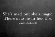 Countless words of wisdom  / by Florina Baciu