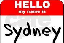 Sydney / by Amy Lewis