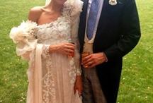 bohemian fairytales / Bohemian boho vintage rustic bridal bride wedding formal / by a reindeer dasher