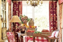 Decorating I Like / I love color, traditional, country French,a few odd things thrown in, a little unexpected. / by B.j. Paulk