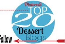 20 Top Dessert Blogs / Delicious sweets & treats recipes from the Top 20 Dessert Blogs.  The best dessert recipes and ideas, all in one place! / by Christi | Love From The Oven