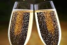 New Year Happiness / Celebrate a new start - fresh ideas, clear mind and  goals to match your dreams, Cheers! / by Elegant KB / Kerry Boozenny, owner