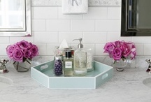 Happy Bath Inspirations / With an ever-changing selection of towels, shower curtains and countertop accessories, all at up to 60% off, bath time will never be the same again. So get inspired; this is just some of what we offer, then find the perfect accessories for your bathroom at the perfect price at our store. / by HomeGoods