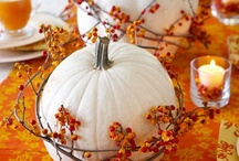Gobble Gobble / Thanksgiving recipes and decor ideas / by Addie