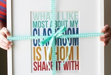 Gifts - Small Appreciation Ideas / by Kate Waller