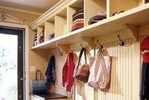 Mudroom Redo Ideas / by Denise | The CreativiDee Workshop