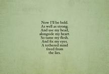 Words / by Hannah Novak