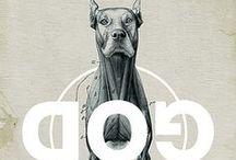 DogIsGodSpelledBackwards / More Dog Boards: DogIsGodSpelledBackwards*Art/Wisdom*Buddies*BulllieBullie*DogFamily*Heroes*Smiles*Info/Stuff*LabLove*LetSleepingDogsLie*AtPlay*ScottieSweeties*Vintage *Food-Dogs / by Tina