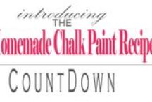 ChalkPaint / More ChalkPaint Boards: Coloriffic*Technique*Palettes*ChalkPaintInspiration / by Tina