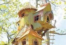 Tree houses / by Elaine Redstone