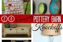 Brands-PotteryBarn / More Brands Boards: Anthropologie*Farragoz*Ikea*IndiaHicks*Pizitz*PotteryBarn*RalphLauren*RestorationHardware / by Tina