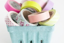 washi tape / by The Spearmint Blogs