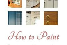 Home - DIY Paint, Stain, & Refinish / by Stephanie