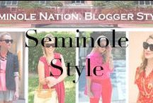 #SeminoleStyle / #SeminoleStyle Series: College Team Style for Students, Alumna, Fans and College Football Lovers... / by A Lacey Perspective
