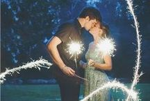 Inspiration { fireworks/sparklers } / by The Little Wedding Helper