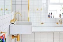 { b a t h r o o m . }  / bathroom designs + ideas.  / by Kate Darowski
