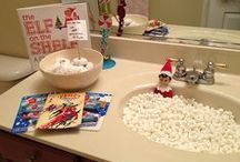 elf on the shelf ideas / by Kim Newman